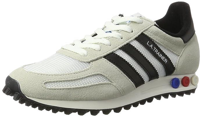 3d35b85926 Adidas La Trainer OG, Zapatillas para Hombre, Beige (Vintage White/Core  Black/Clear Brown), 39 1/3 EU: Amazon.es: Zapatos y complementos