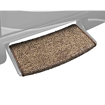 Prest-O-Fit 2-0201 Wraparound Radius RV Step Rug Brown 22 In. Wide: Automotive