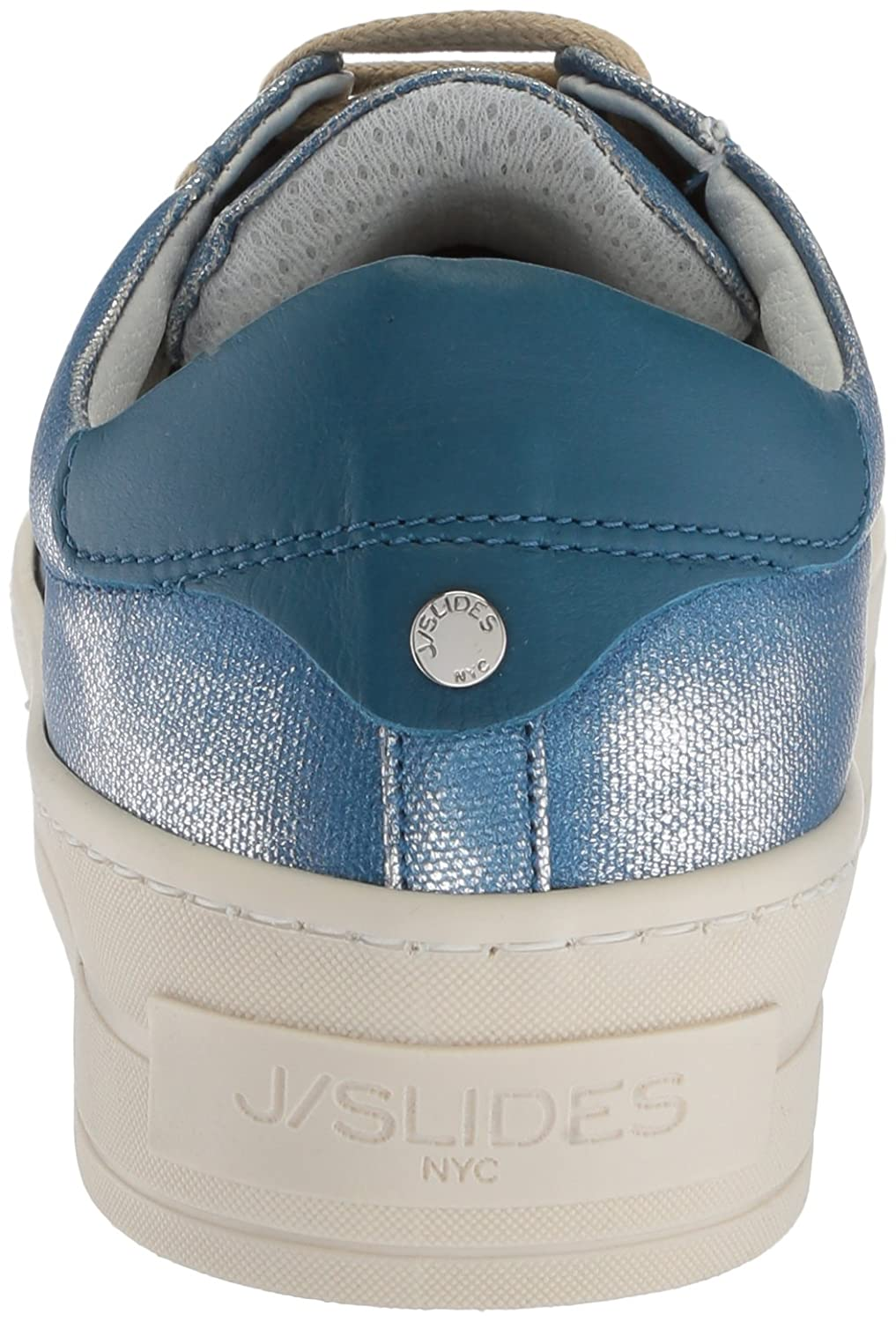J Slides Women's Heather Sneaker B076DZ2HLC 8.5 B(M) US|Blue
