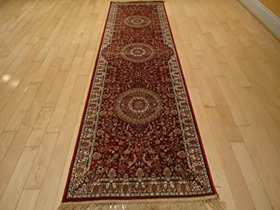 Amazon Com Silk Persian Style Area Rug Long Hallway Stair