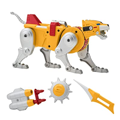 Voltron Classic Combining Yellow Lion Action Figure: Toys & Games