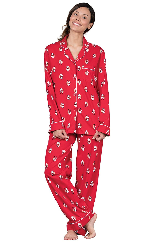 d2e55c5c22 PajamaGram Christmas Pajamas for Women - Pajama Set for Women, Novelty  Prints at Amazon Women's Clothing store: