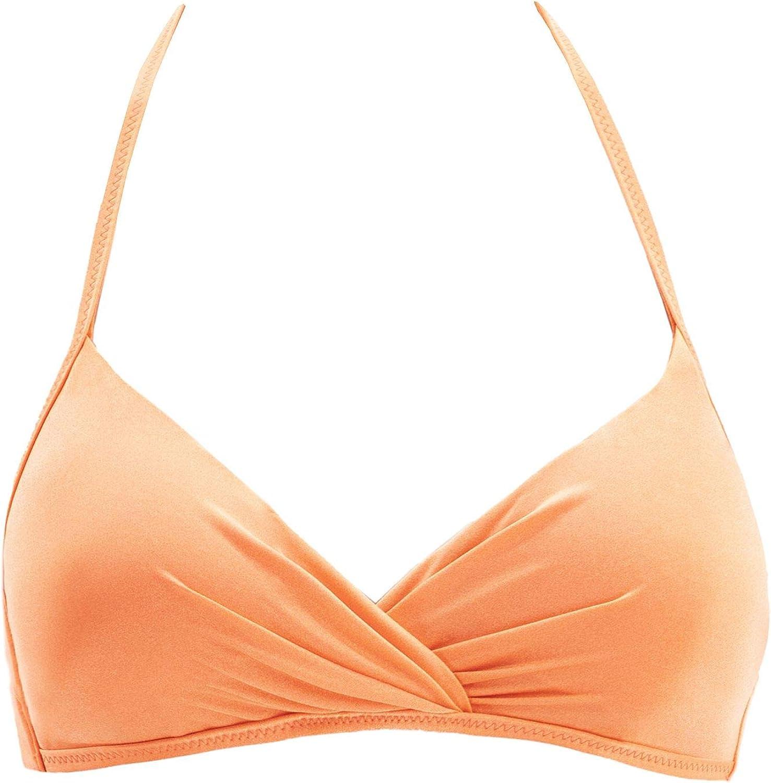 Tropical Art Goldenpoint Costume da Bagno Donna Reggiseno Bikini a Fascia