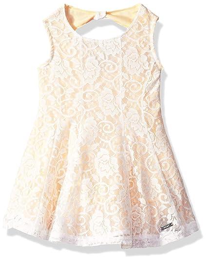 Dkny Vestido De Encaje A La Moda Vestido Casual Para Niñas