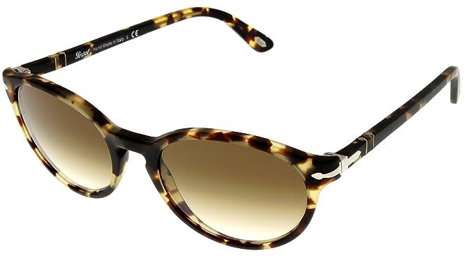 37ce632870e5e Persol Sunglasses Unisex Tobacco Virginia Havana Round PO3015S 9005 ...