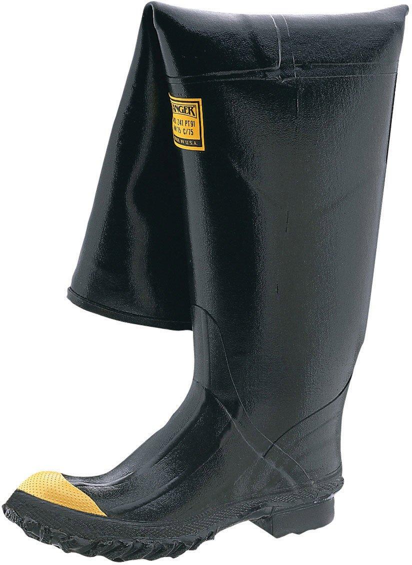 Honeywell Safety 2142-9 Ranger Safety Stormking Hip Boot for Men's, Size-9, Black
