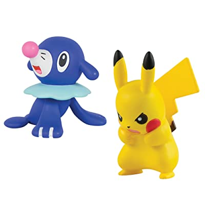 TOMY T19175 - Pack de Figurine de Combat - Pikachu Vs Otaquin
