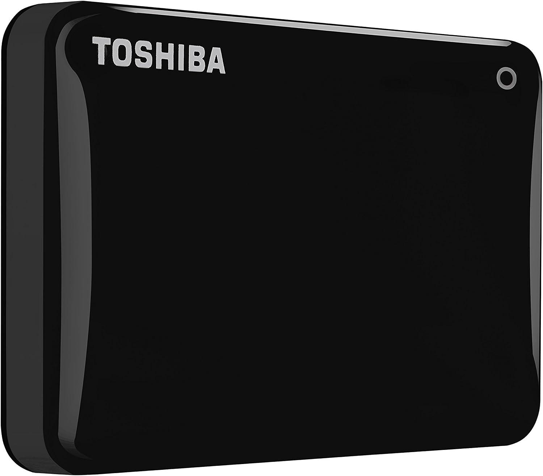 HDTC805XK3A1 Toshiba Canvio Connect II 500GB Portable Hard Drive Black