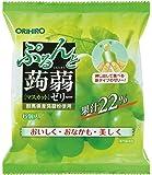 オリヒロ ぷるんと蒟蒻ゼリー新パウチ マスカット 9袋セット