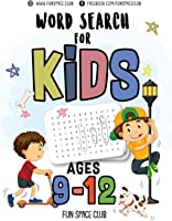 Word Search For Kids Ages 9-12: Word Search