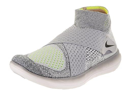 a46cc5175fef Nike Women s Free Rn Motion FK 2017 Wolf Grey Black Cool Grey Volt Running  Shoe 7 Women US  Amazon.in  Shoes   Handbags