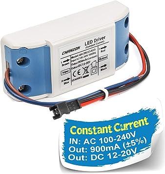 230V LED Netzteil 6W 350mA Self 21V-DC