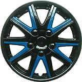 Sakura 14-inch Comet Wheel Trims - Blue - Set of 4