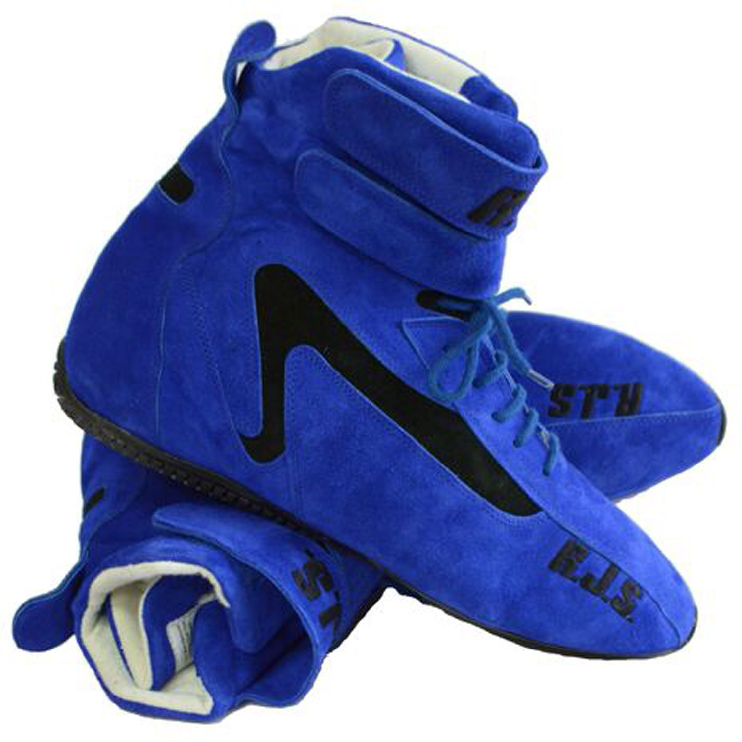 BRUSHED LEATHER /& ARIMAND KEVLAR LINER,GREAT FOR NUMEROUS TYPES OF RACING /& OFF-ROAD APPLICATIONS NEW PAIR OF RJS BLUE HIGH-TOP DRIVING SHOES,SIZE 12,RACING BOOTS,SFI 3.3//5