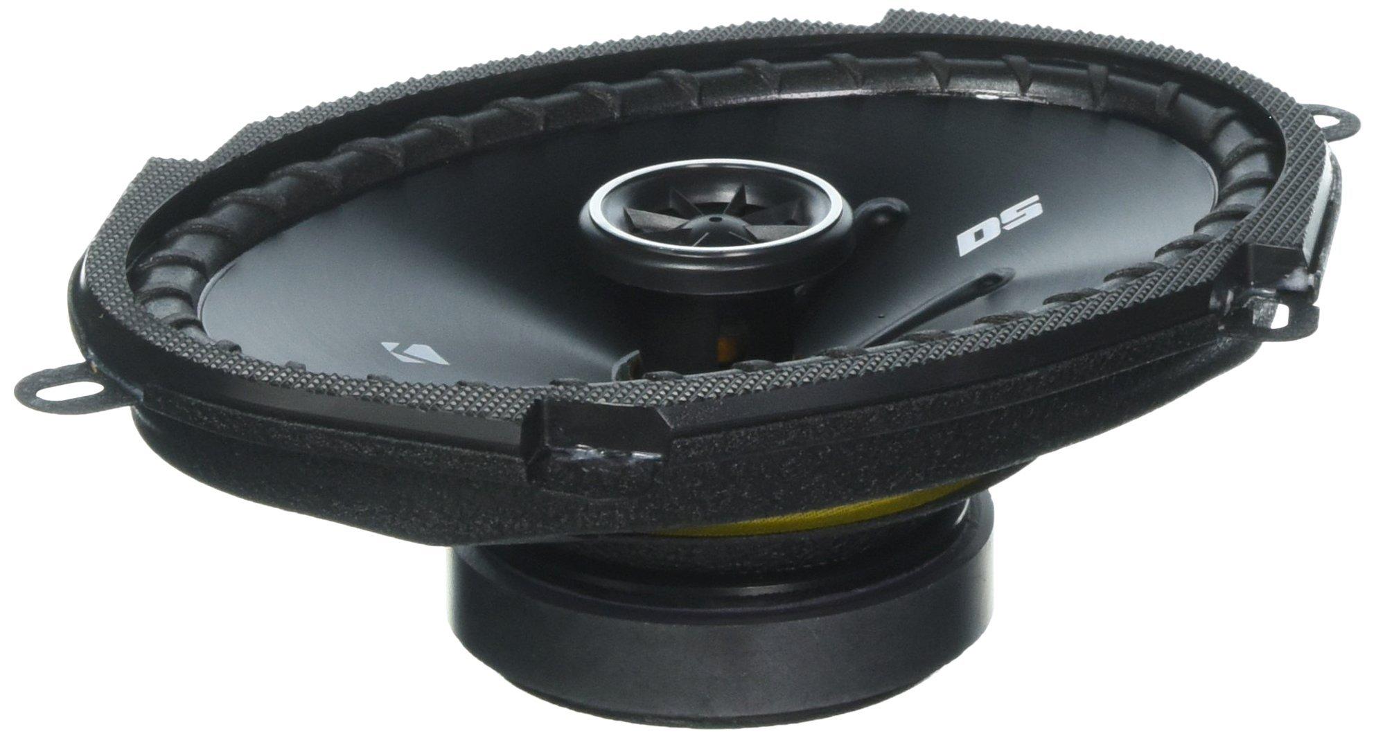Kicker 43DSC6804 D-Series 6x8-Inch 200W Speakers Pair
