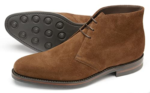 050946f680f Loake Men's Pimlico Leather Suede Chukka Boots: Amazon.co.uk: Shoes ...