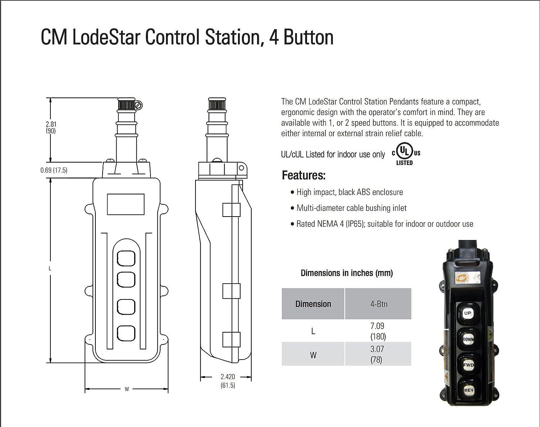 Cm Lodestar Hoist Pendant Wiring Diagram