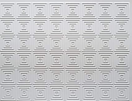 Amazon.com: RETRO ART Rhombus PVC Backsplash Tiles Kitchen ...
