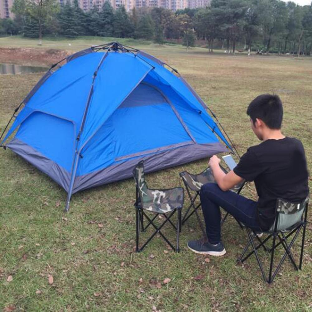 LZH Zelt Kuppelzelt Camping Familien Trekkingzelt Aluminiumstangen Wasserdichte 4 Personen