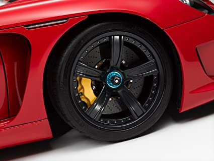 Gemballa Mirage GT Black based on Porsche Carrera GT Car Art Poster Print on 10 mil