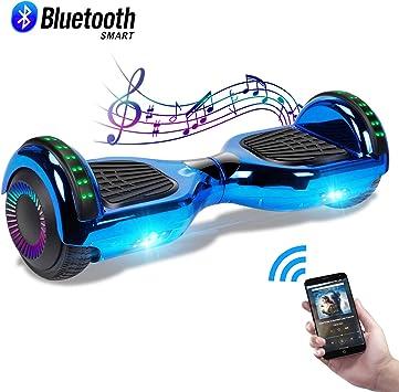 Amazon.com: CBD - Tabla de hoverboard cromada para niños ...