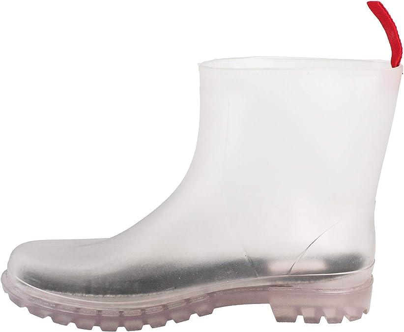 Gosch Shoes Bottines pour Femme Chaussures Bottes Imperm/éable /à leau durchsichtig7105-150-0 en PVC