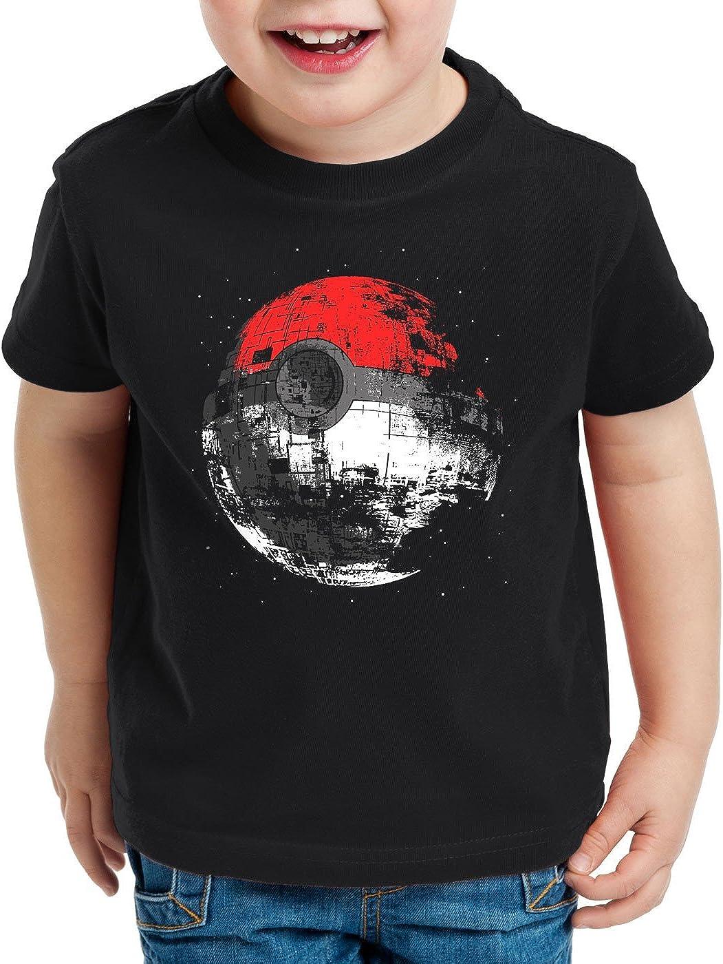 style3 Poke Death Camiseta para Niños T-Shirt Estrella de la ...