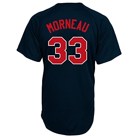 f0fbc1002 MLB Minnesota Twins Justin Morneau Full Button Down Synthetic Replica  Batting Practice Jersey