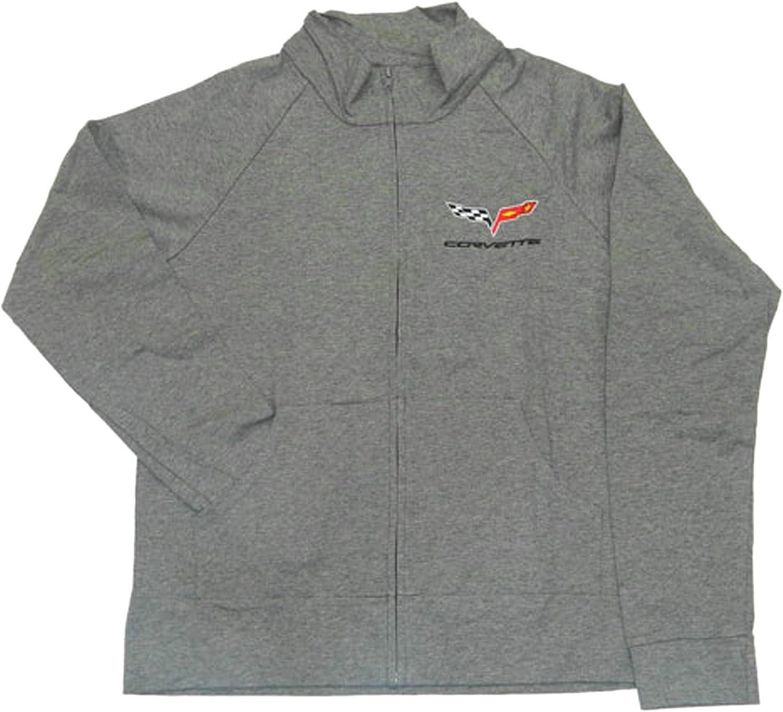 Corvette C6 Womens Jacket Cadet Gray