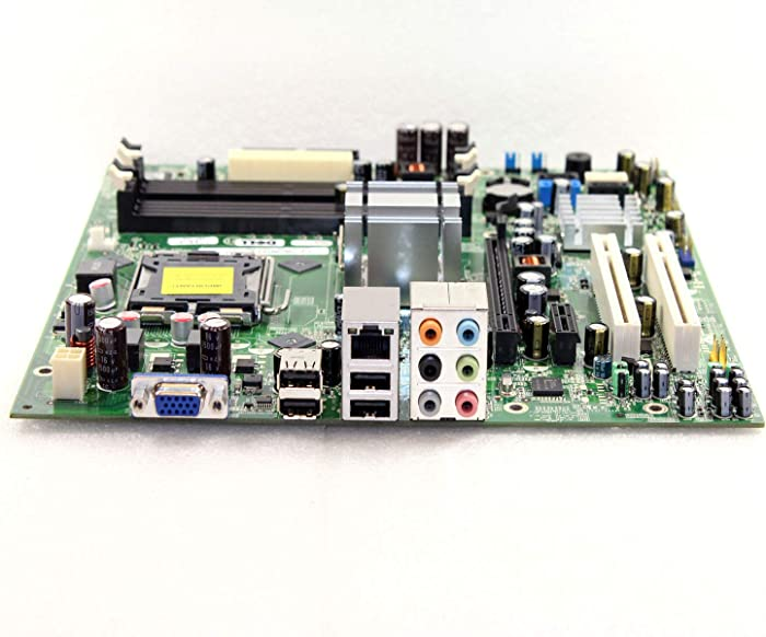 Genuine Dell Version G33M02 For Inspiron 530 530s, Vostro 200 400, Systems Intel G33 Express DDR2 SDRAM Motherboard Logic Board Main Board Compatible Part Numbers: G33M02, G679R, K216C, CU409, RY007