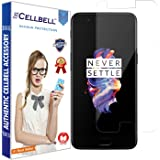 CELLBELL® OnePlus 5 (Front-Nano) Screen Protector With FREE Installation Kit