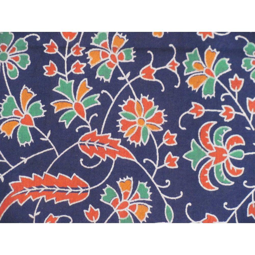Bohemian Peacock Paisley Print Cotton Bedspread Bedding 3 Pcs Set King Size by Padma Craft (Image #4)