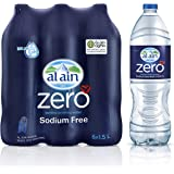 Al Ain Zero, Bottled Drinking Water - 1.5 litre (Pack of 6)