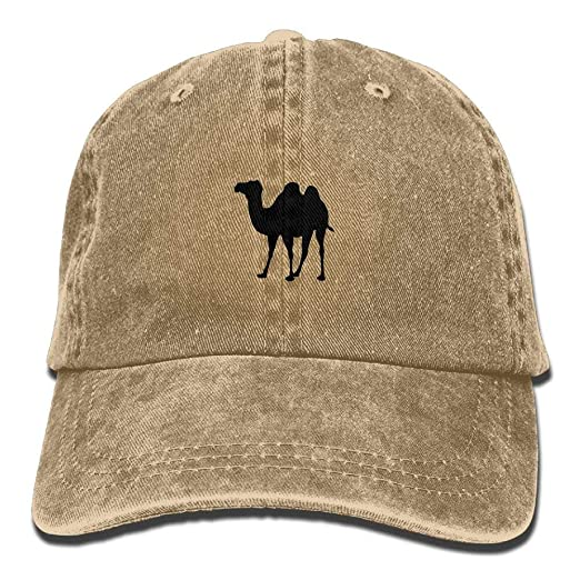 Amazon.com  Pillow Hats Camel Fashion Unisex Adjustable Baseball Cap ... 54ffac04def