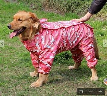 Gulunmun Manteaux Imperméables pour Chiens Camouflage Chien