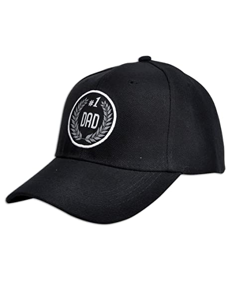 220258b7 # 1 Mom, Dad, Grandma & Grandpa Black Embroidered Baseball Cap at Amazon  Men's Clothing store: