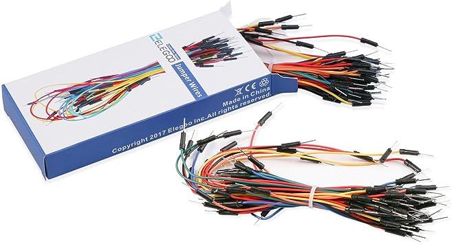 Steckbrett GE Jumper Wires für Breadboard 65 Stück Patchkabel