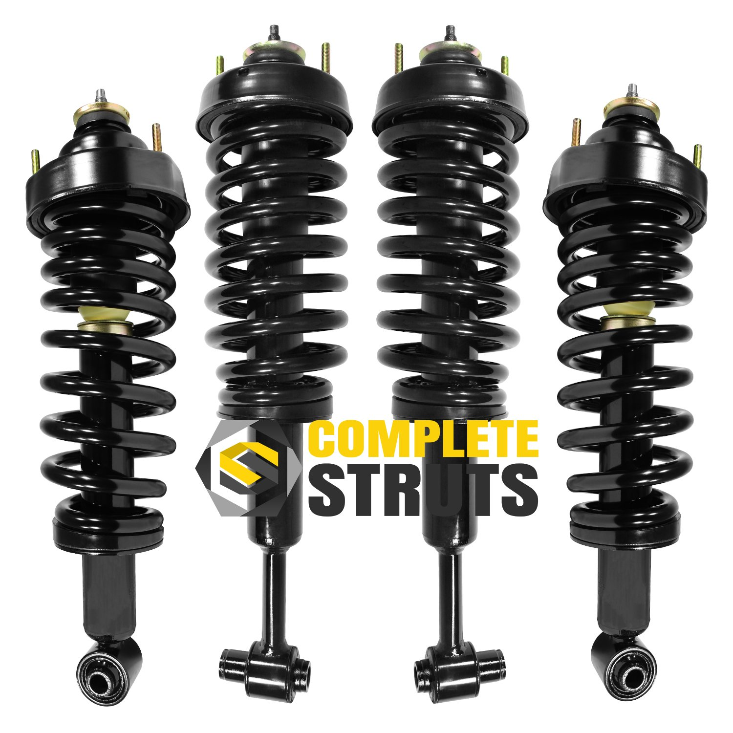 Front /& Rear Quick Complete Struts /& Coil Spring Assemblies Compatible with 2002-2003 Mercury Mountaineer Set of 4