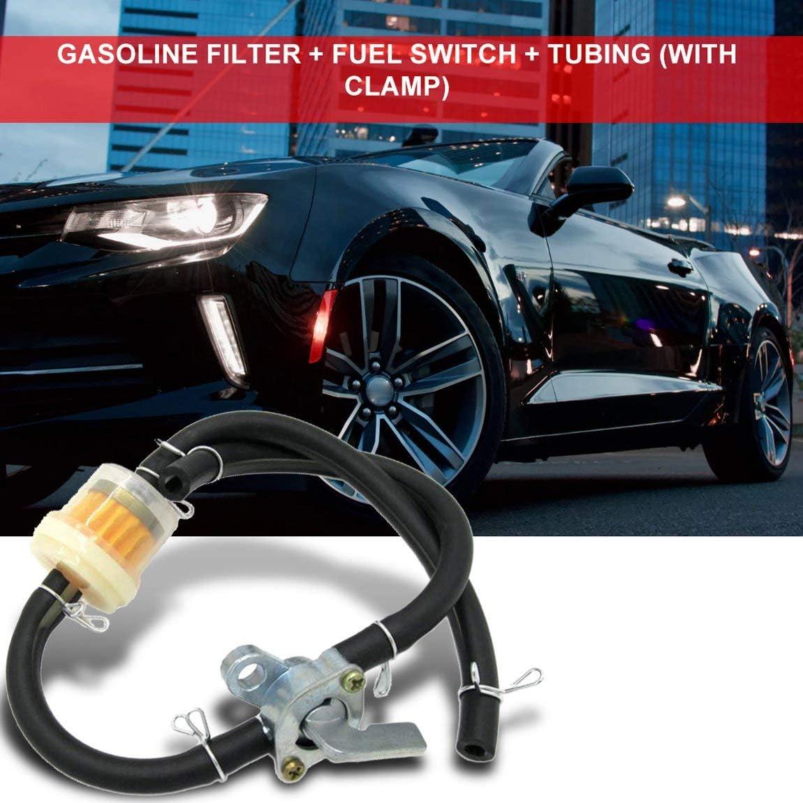 SeniorMar N/ützliche universelle Kraftstoffhahn Benzinschalter Kraftstoffhahn Benzinhahn Wasserhahn f/ür Generator Gas Motor Kraftstofftanks