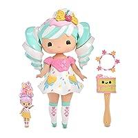 MGA Entertainment Secret Crush Sundae Swirl 13-inch Large Doll with Mini Doll Best Friend