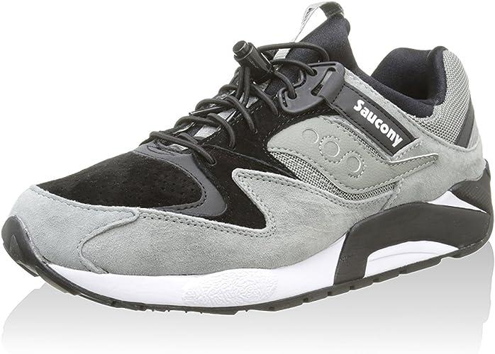 Saucony Sneaker Grid 9000 Premium GrigioNero EU 45: Amazon
