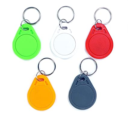 Llaveros NFC | 5 colores | NFC Tag clave | 1024 bytes ...