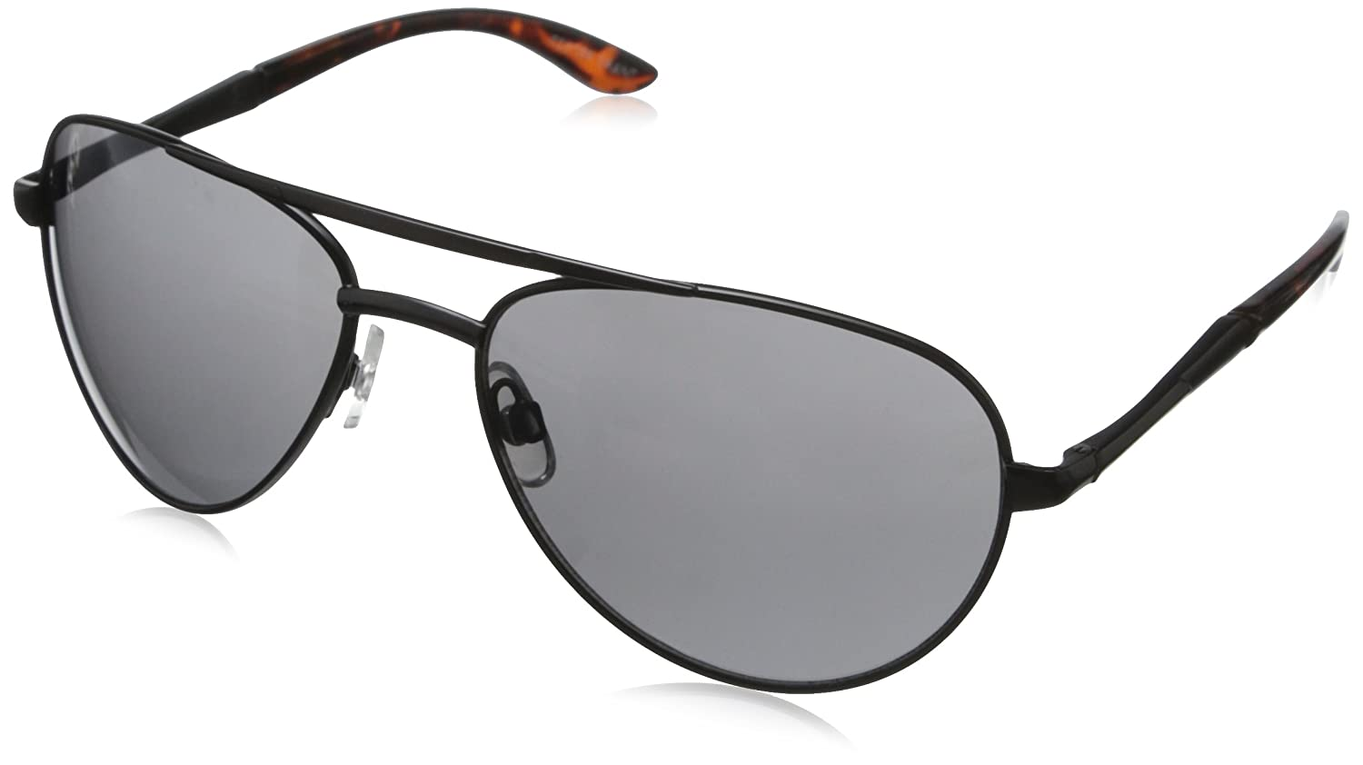 d675e20ee0c2 Amazon.com: Foster Grant Men's Adventurer 1 Polarized Wrap, Black, 60 mm:  Clothing