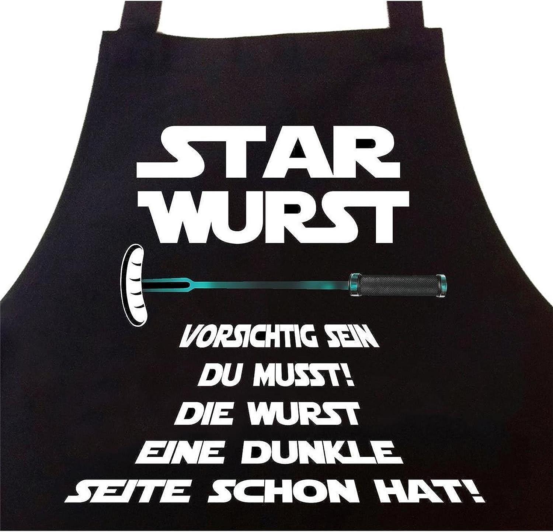 Kochschürze Star Wars Darth Vader Küchenschürze Schürze Grillschürze Film