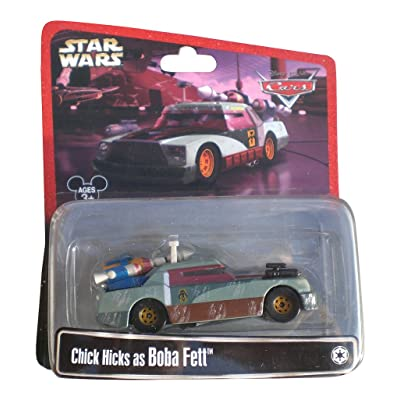 Disney Star Wars Pixar Cars Chick Hicks as Boba Fett 1/55 Die-Cast Series 2 - Theme Park Exclusive Limited Edition: Toys & Games