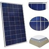 ECO-WORTHY 100W 12v 太陽光パネル ソーラーパネル L02P100-1