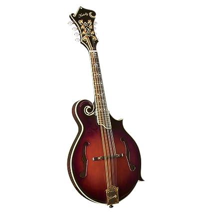 Kentucky KM-855 Artist F-model Mandolin - Amberburst