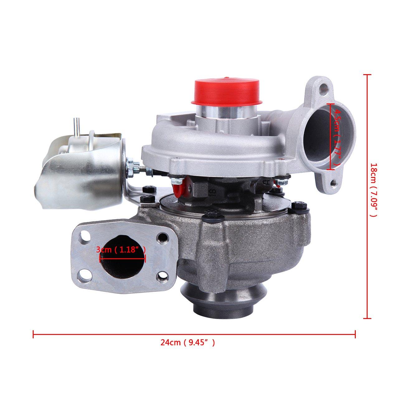 Ambienceo 1.6 HDI TDCI 109 hp turbocompresseur turbocompresseur 80KW Turbo Space Scenic Kit...: Amazon.es: Coche y moto