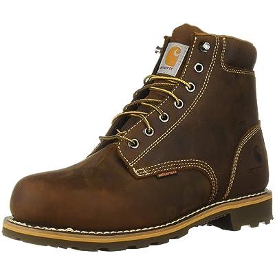 Amazon.com   Carhartt Men's 6 Inch Plain Lug Bottom Soft Toe Industrial Boot   Industrial & Construction Boots