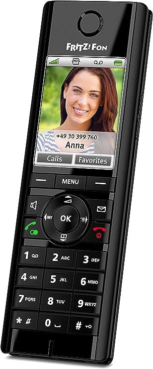 Avm Fritz Fon C5 Dect Komforttelefon Schwarz Elektronik